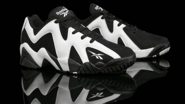 Reebok Kamikaze II Low Black White  6191e89c72