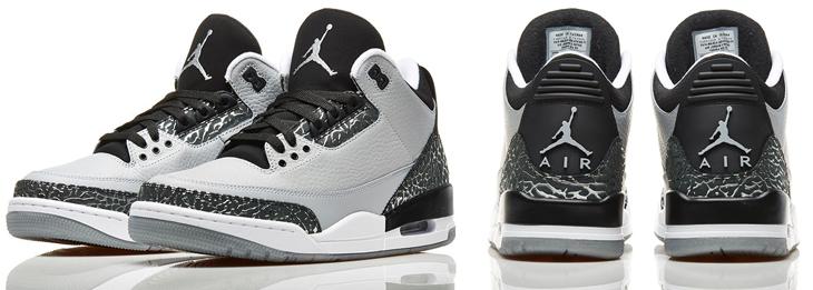 ef9029095f4 Air Jordan 3 Wolf Grey Socks | SportFits.com