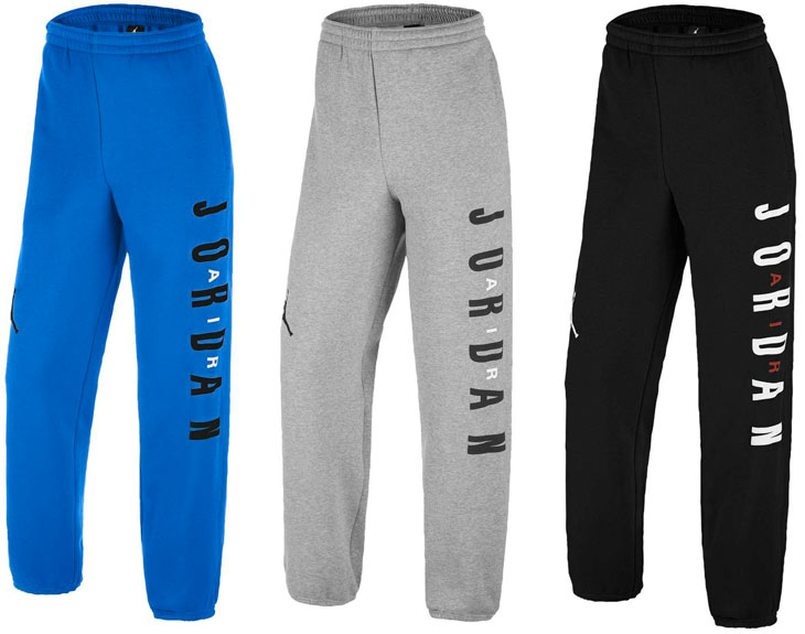 b37ca4079faed5 Air Jordan 6 Sport Blue Fleece Pants