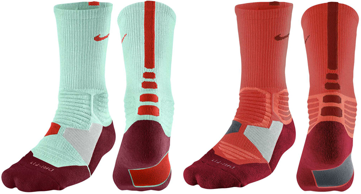 nike kd 7 global game hyper elite basketball socks