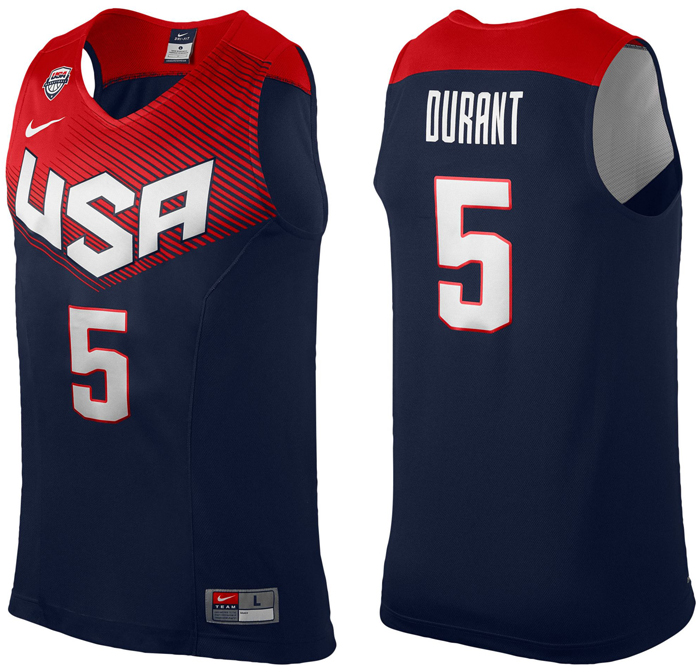 detailing 1b5b8 e550d inexpensive kevin durant usa basketball jersey 7f78c 27011
