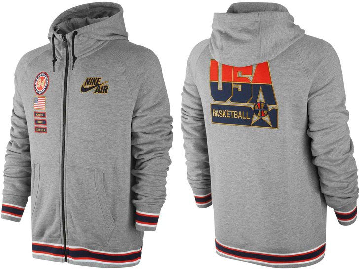 shoes for cheap sneakers for cheap cheap sale Nike USA Basketball Hoodie | SportFits.com