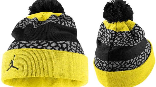 jordan-jumpman-striped-beanie-black-yellow 1bfac7afb4f