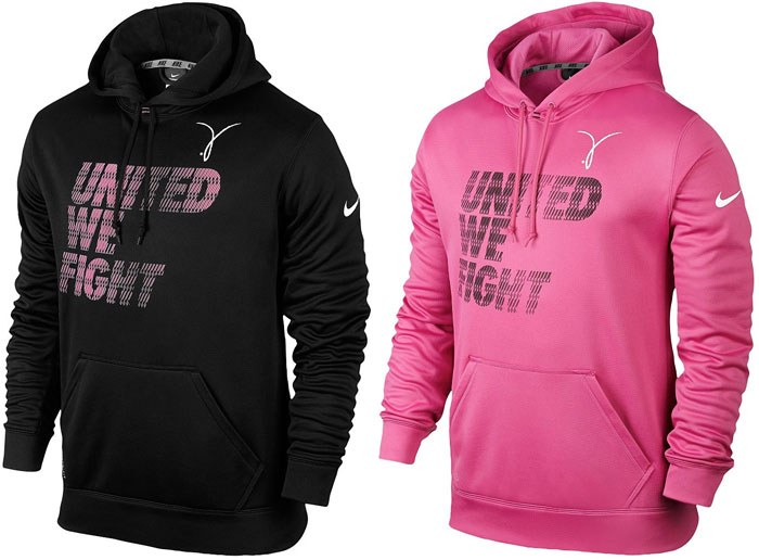 Nike Kay Yow KO Hoodies Breast Cancer Awareness  339c62a26