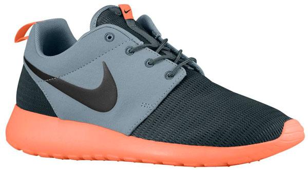 on sale f030b 4dade Nike Roshe Run (Dark Magnet Grey Bright Mango Black)