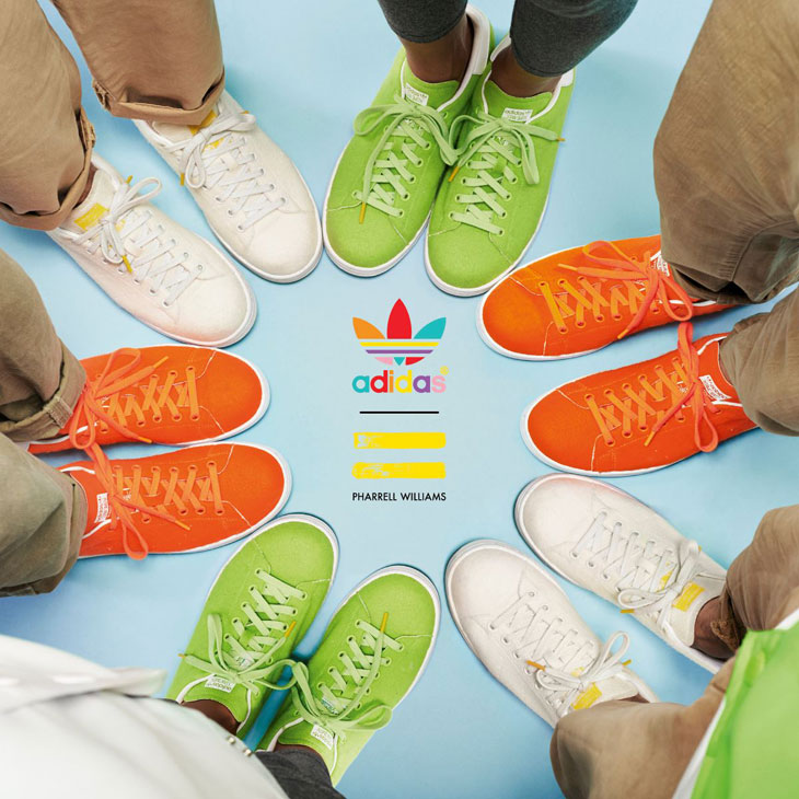6cab6d5371 adidas Pharrell Williams Stan Smith Tennis Pack