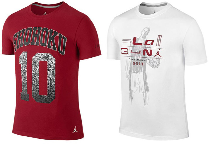 ab550a775 Jordan x Slam Dunk Collection Shirts