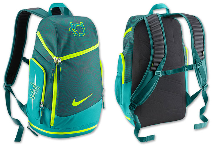 ... nike-kd-7-uprising-backpack Nike KD 7 Max Air Backpack Space Blue  Obsidian Mango Nike Bag ... 399b394c661ba