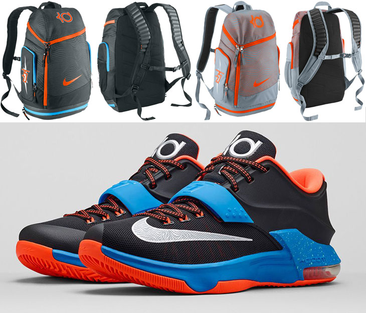 259025d1a028 Nike KD Backpacks to Match the Nike KD 7 On the Road