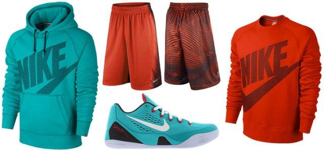 2af7ec6d59c0 Nike Kobe 9 Dusty Cactus Clothing Shirts Shorts