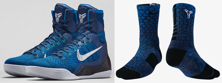 low cost 2975d 74668 nike-kobe-9-elite-brave-blue socks