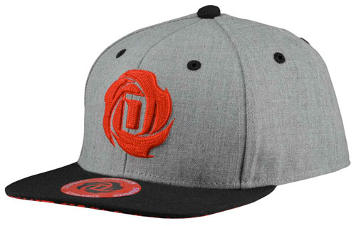 adidas-d-rose-5-hat-grey-black-red 13621cd52f12