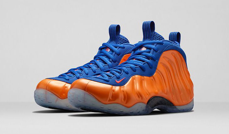 check out 20b22 99a53 nike-air-foamposite-one-knicks-image-1