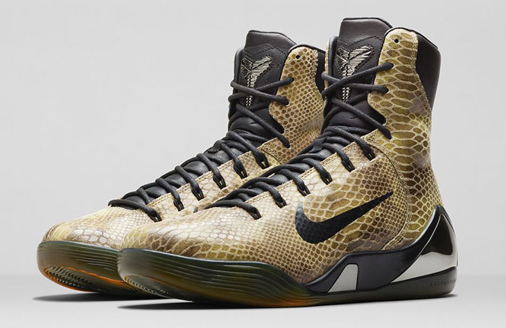 sale retailer 700b2 ec815 Nike Kobe 9 High EXT Snakeskin   SportFits.com