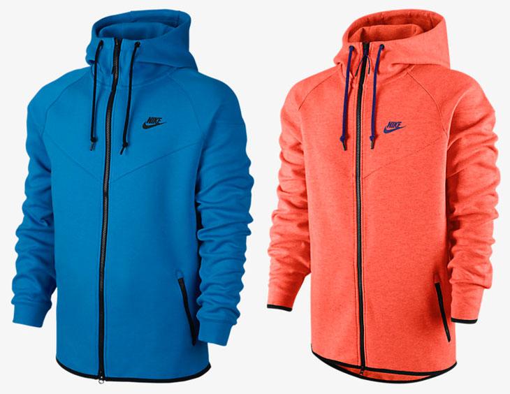 Nike Tech Fleece Windrunner Hoodie Holiday 2014 Colors Sportfits Com