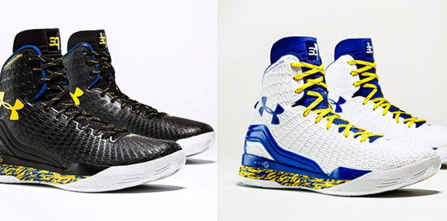 "1ac81342cd6 Under Armour Clutchfit Drive Stephen Curry ""Home"" and ""Away"""