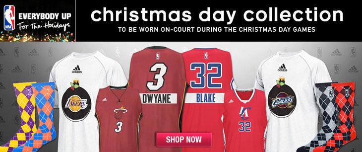 e24ba2cef adidas NBA Christmas Day 2014 Clothing and Jerseys