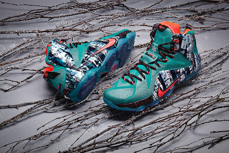nike lebron 12 christmas collection - Christmas Lebron 12