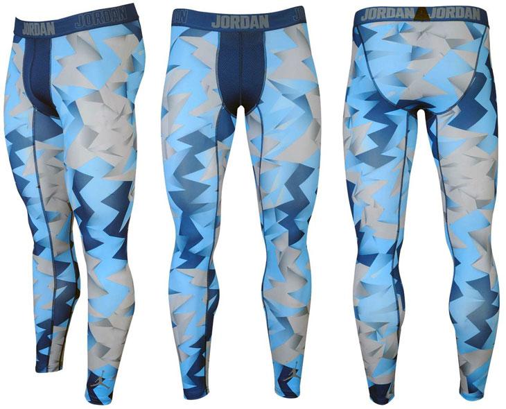 Air Jordan 7 French Blue Compression Pants Sportfits Com