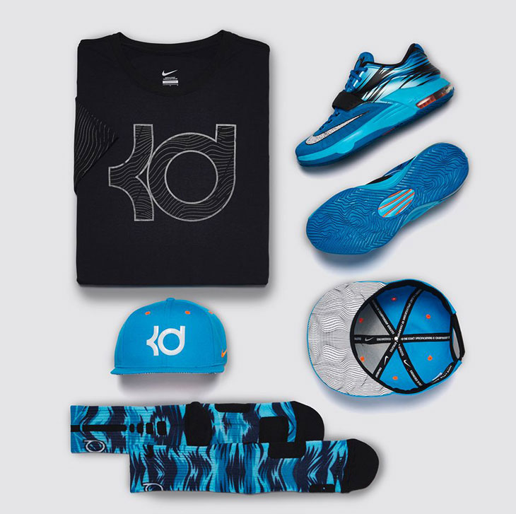 reputable site f0626 0532f nike-kd-7-blue-lacquer-clearwater-clothing