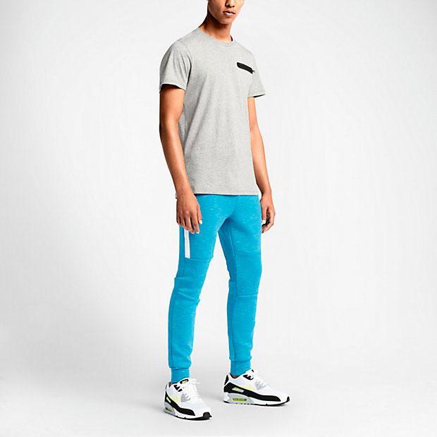 Sudamerica Enviar musicas  Nike Tech Fleece Pants Light Blue Lacquer   SportFits.com