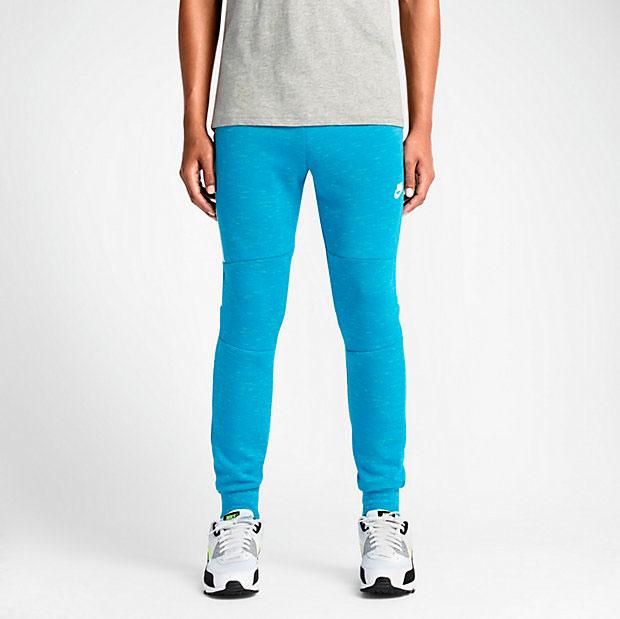 Nike Tech Fleece Pants Light Blue Lacquer Sportfits Com