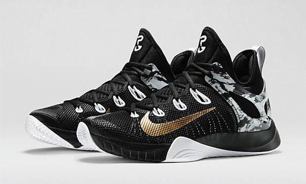 "best service f73ac a6e9a Nike Zoom HyperRev 2015 Paul George PE ""Black Metallic Gold"""
