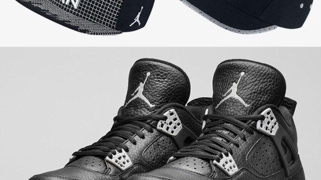 "3e599768d0ada0 Jordan Retro 4 Hats to Hook with the Air Jordan 4 ""Tech Grey"""