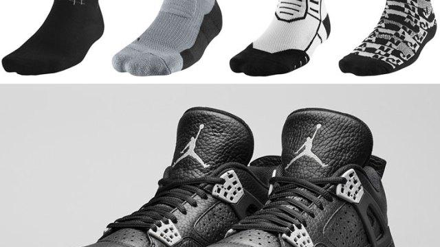 6d879013de2 air-jordan-4-tech-grey-oreo-socks