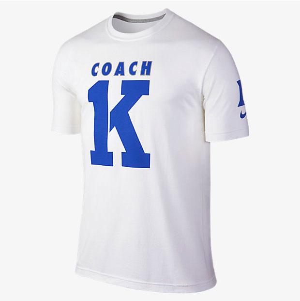 34fa29bd1 Nike Coach K Duke Celebration Shirt