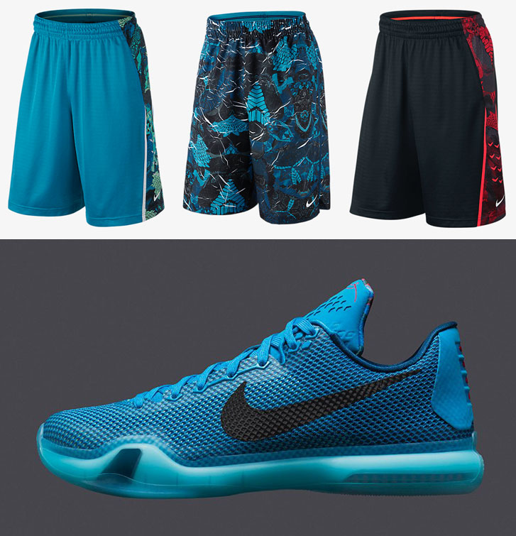 "9ae8383a0171 Nike Kobe Basketball Shorts to Sport with the Nike Kobe X ""5AM Flight"""