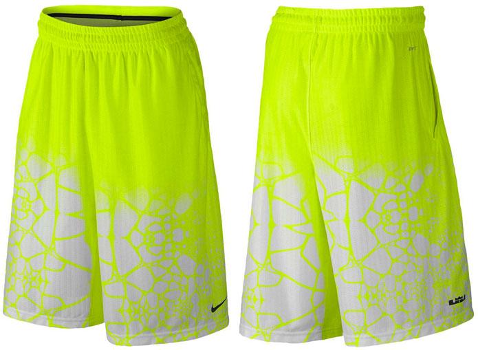ffdf6e0e1db1 Nike LeBron 12 Double Helix Shorts