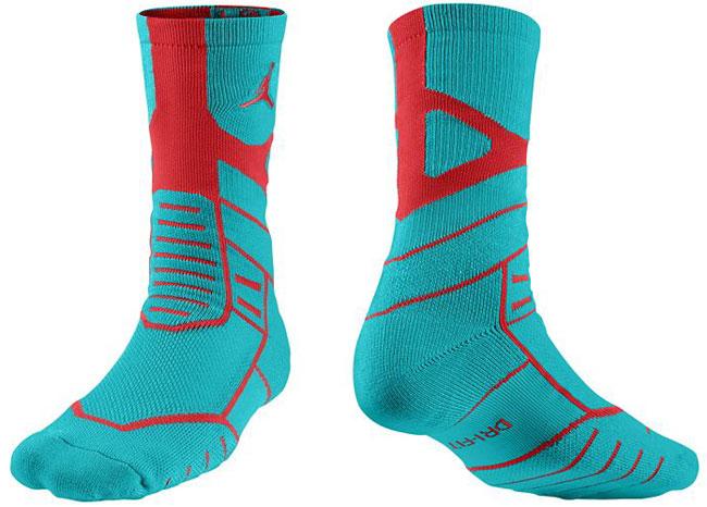 f07699fc2aa76d jordan-jumpman-flight-crew-socks-teal-red