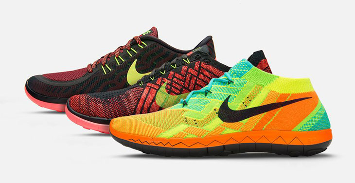 a93b49e0 Nike Free Running 2015 Collection Nike Store Exclusive Colorways ...