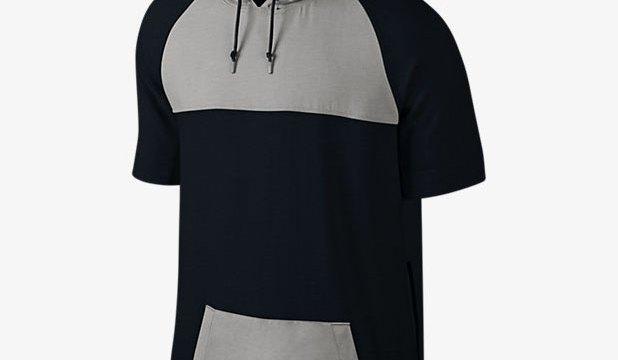 c4f0266df02 Jordan Short Sleeve Pullover Hoodies – New Two-Tone Color Updates