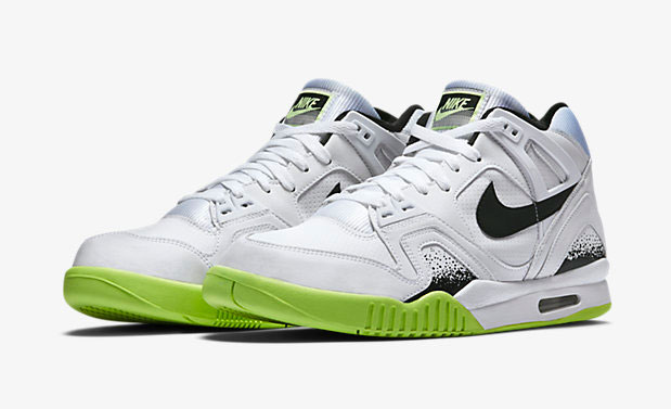 Nike Air Tech Challenge II White Liquid Lime  149c052bd1