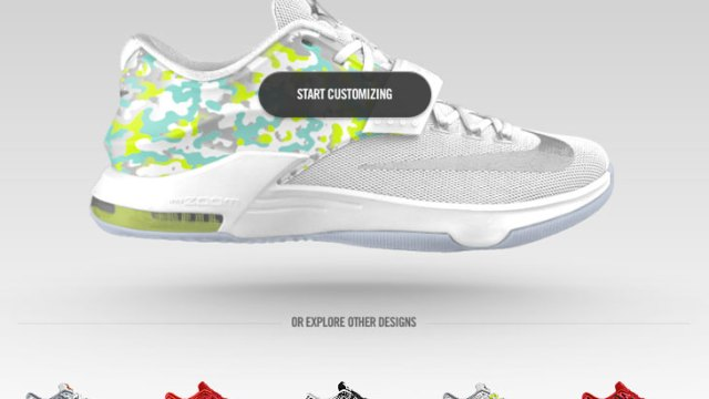 0ad2627cd42 Nike KD 7 Easter Graphic Now Available on NIKEiD | SportFits.com