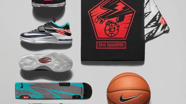 "super popular 1e013 450c3 Nike KD 7 ""Flight"" Collection"