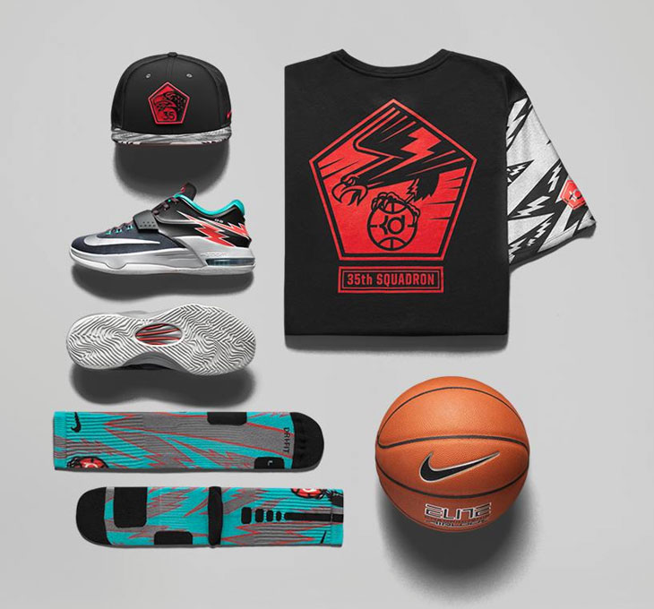 online store 25a78 65ccd nike-kd-7-flight-clothing