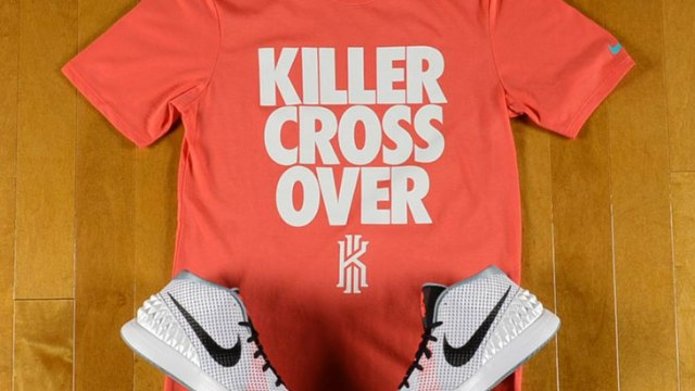"e07bfa7c Nike Kyrie 1 ""Home"" x Nike Kyrie Killer Cross Over T-Shirt"