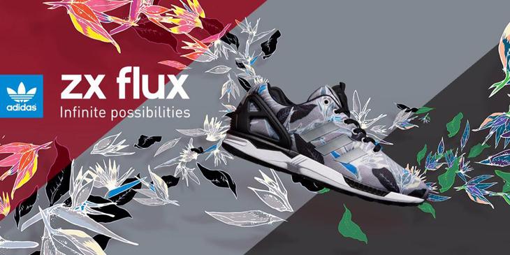9c8d11c44 adidas ZX Flux Floral Collection | SportFits.com