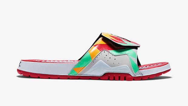 eb9c2e74a Air Jordan 7 Hare Slide Sandal