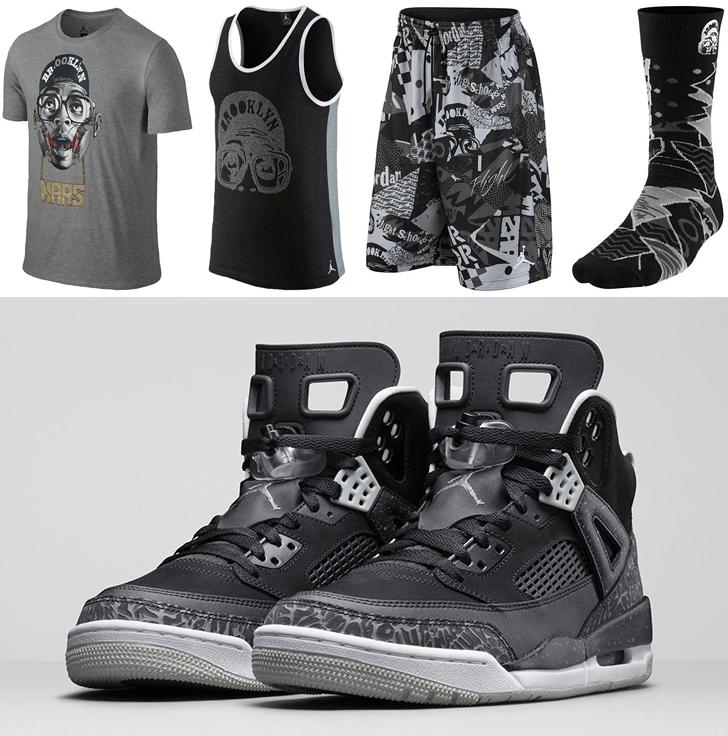 986eeab957a Jordan Spizike Oreo Clothing Shirts Shorts and Socks
