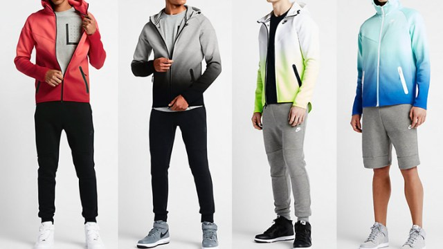 c297fdd53bf7 Nike Tech Fleece Fade Windrunner Hoodies