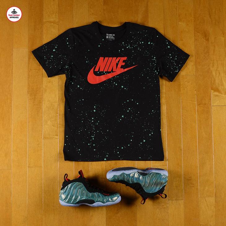 5d20bdf00c8 Nike Air Foamposite One Gone Fishing Shirt