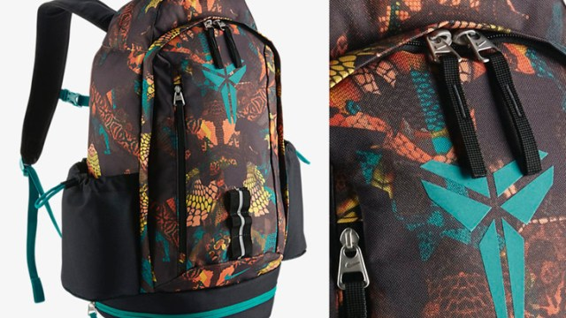 90232c72d086 Nike Kobe Mamba Backpack Black Radiant Emerald