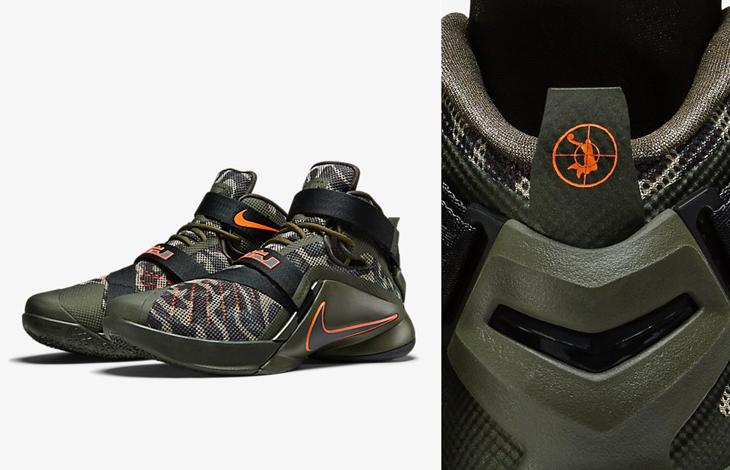 Nike LeBron Soldier 9 Premium Dunkman Camo  ecef2c50b