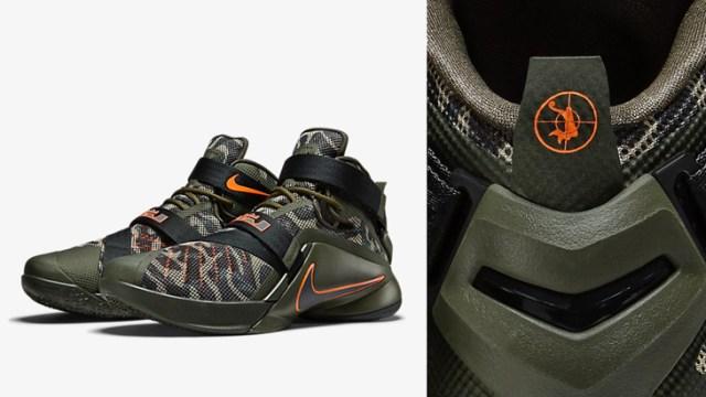a00b2961d71b Nike LeBron Soldier 9 Premium Dunkman Camo