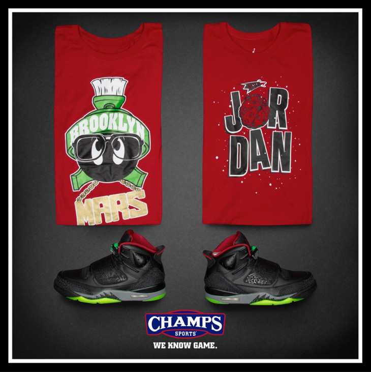"""reputable site 59ac5 3a6bb Jordan Son of Mars """"Marvin the Martian"""" Collection"""