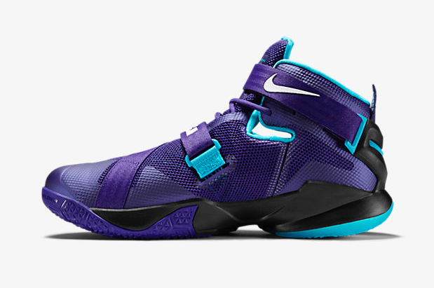 fc6978a51a61 Nike LeBron Soldier 9 Summit Lake Hornets